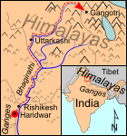 Yogi Swami Sundaranand's Home is in Gangotri